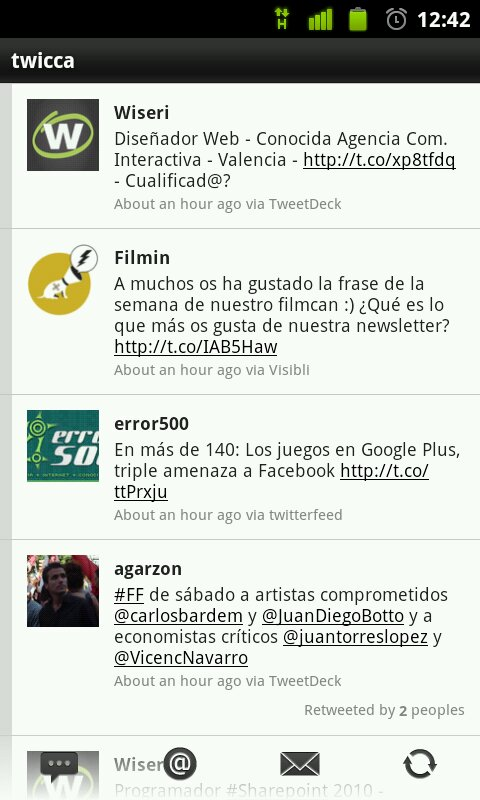 App Android para Twitter