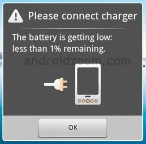 Duracion de la bateria en Android