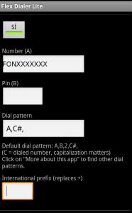 App Dialer para Android
