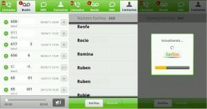 Aplicación de FonYou para Android