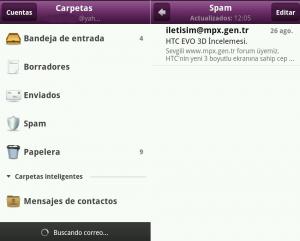Correo de Yahoo en Android