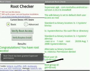 Como comprobar si soy root en Android