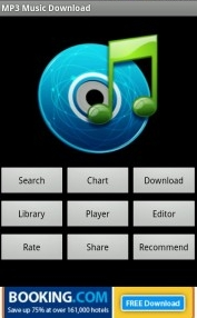 Opciones Download Music Pro