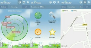 Wifi Finder para Android