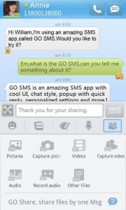 Go SMS Android