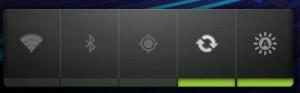Widget de control de energía en Android