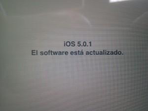 IOS 5.0.1 actualizado