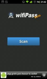 WifiPass contraseñas wifi por defecto en Android