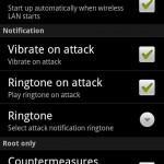 Configuracion de wifi protector app Android