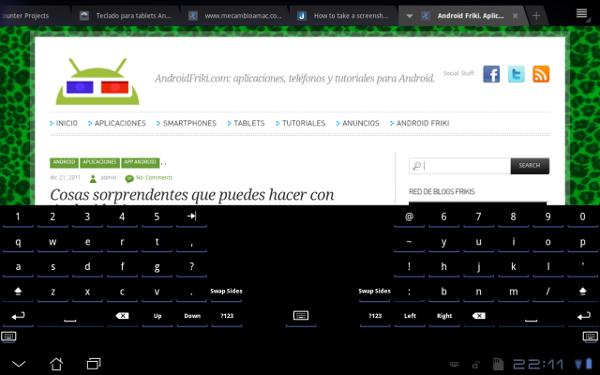 Open Split Keyboar para Android.
