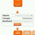 Transferencias en Ing desde Android