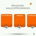 Productos Ing en la app de ANdroid