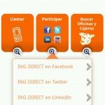 Redes sociales de Ing en Android