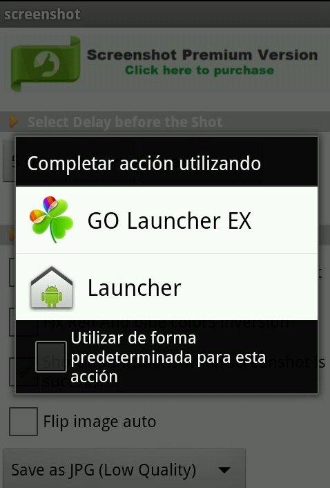 Apps predeterminadas en Android