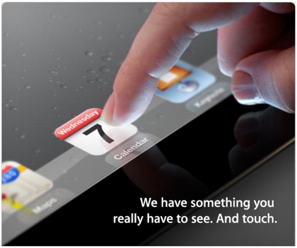 Presentación de iPad3