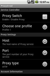 Navega anonimamente desde Android