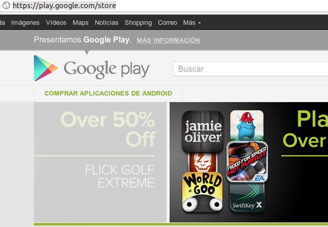 Google Play el nuevo Market
