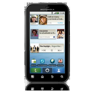 Motorola Defy el terminal mas resistente