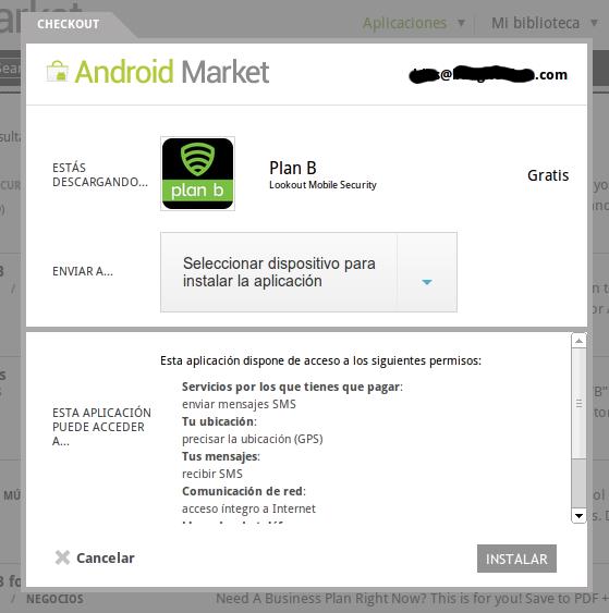 Plan B, app para recuperar tu smartphone