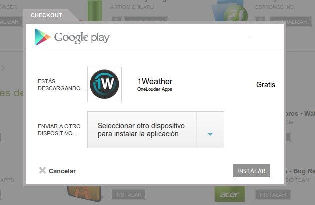Instalar apps desde el navegador