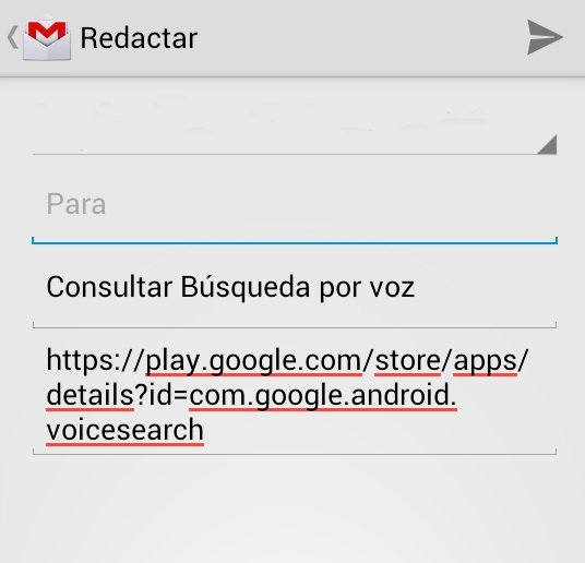 Compartir desde Google Play