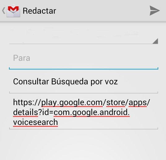 Compartir desde Google Play