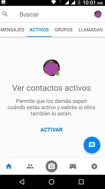 ocultar tu conexión en Facebook Messenger cuando lo necesites