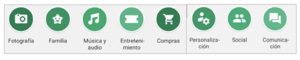 categorias principales play store google apk