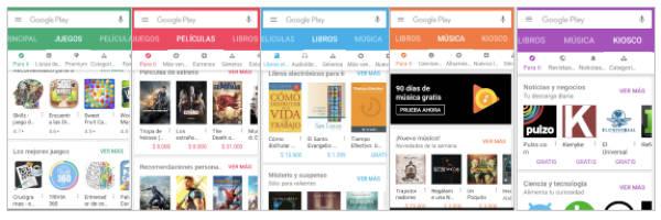 Categorias Apps Juegos Google Play Android Aplicaciones Y