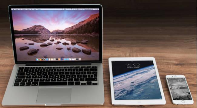 Como hacer capturas de pantalla en Mac IOS