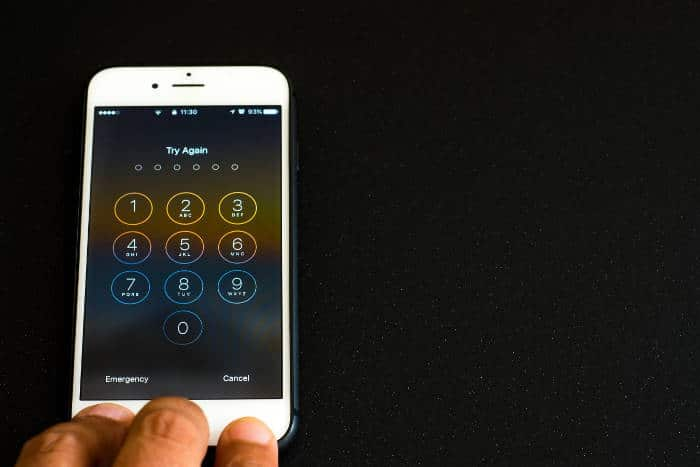Restaurar contraseña iPhone android