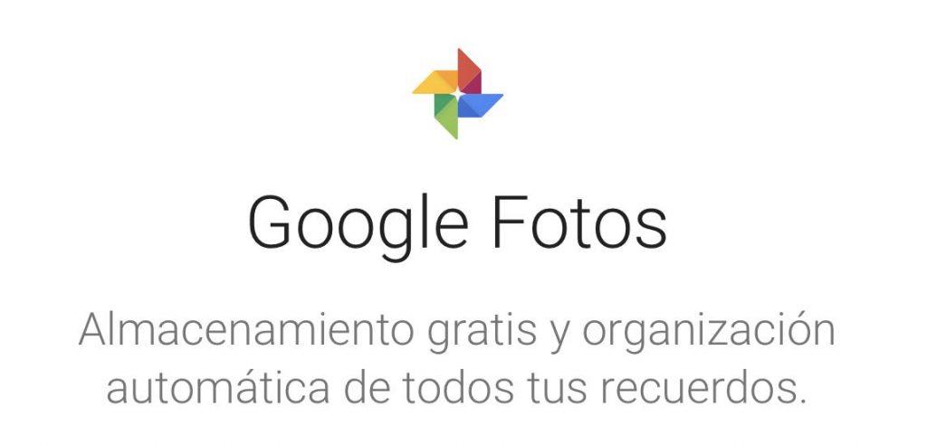 google photos almacenar fotos nube