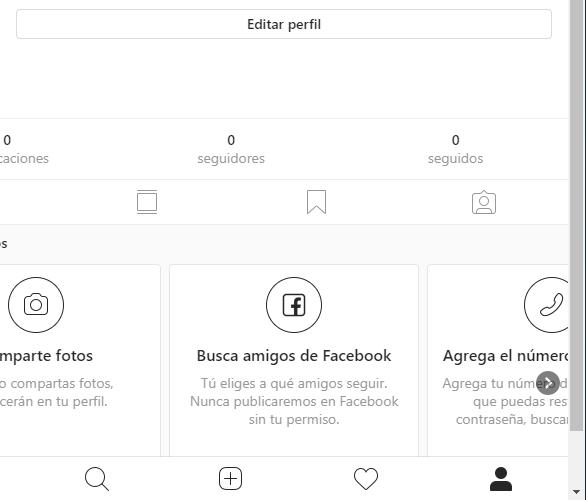 desactivar o borrar cuenta de instagram