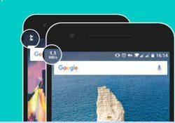 ver velocidad en la barra de direcciones android