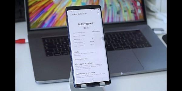 Codigo IMEI en los ajustes del telefono (Android)